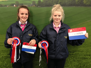 Champion Young Handlers